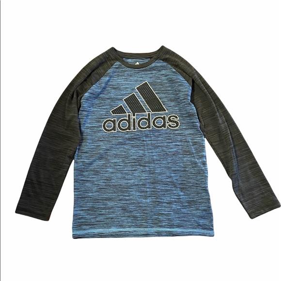 Adidas Boy's Long Sleeved Shirt Size M (10/12)